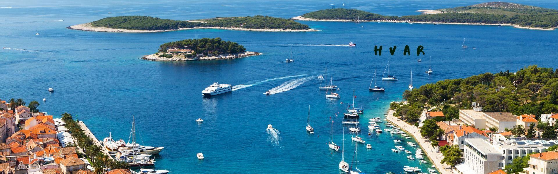 Charter yacht Hvar