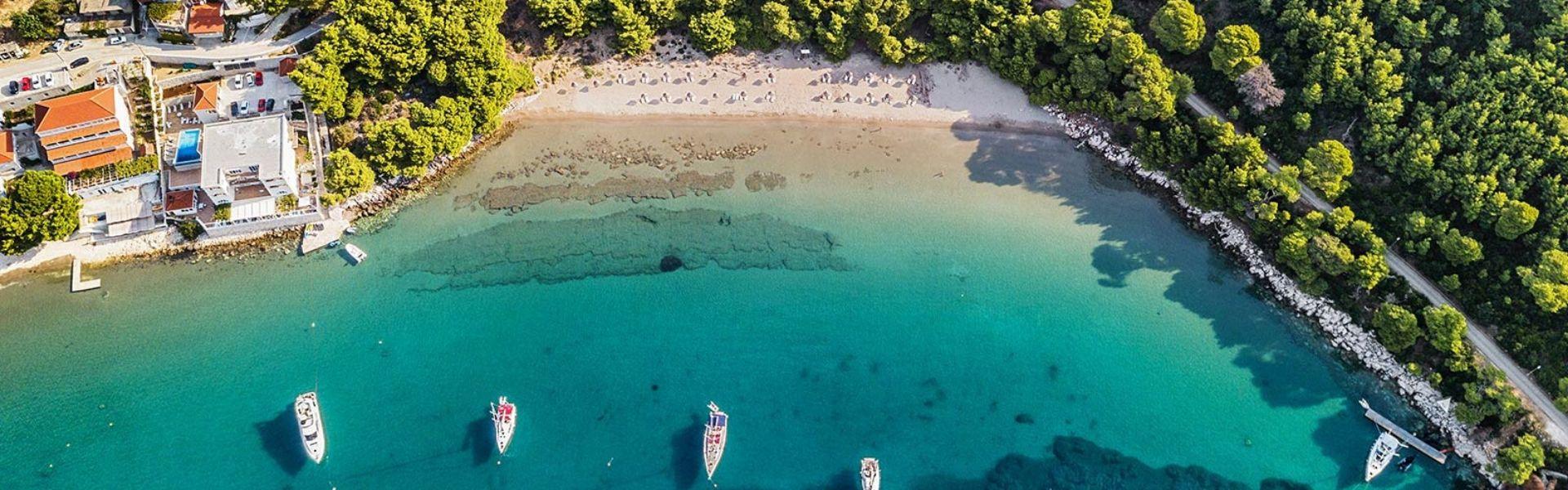 Saplunara beach Mljet