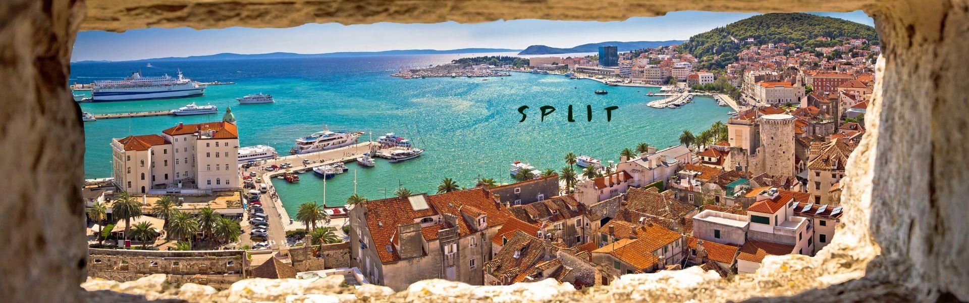 Boat charter Dubrovnik Split