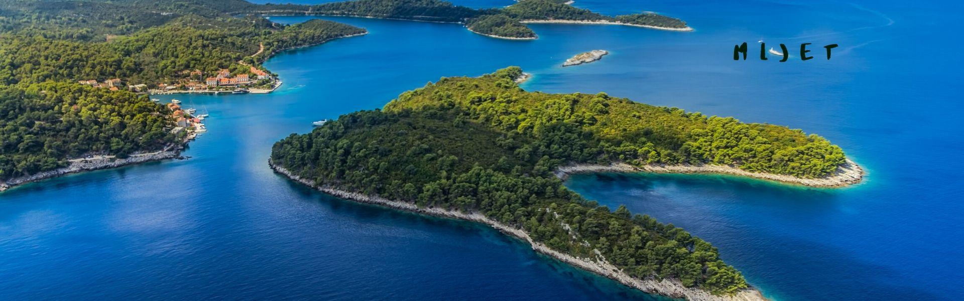 Mljet island boat charter