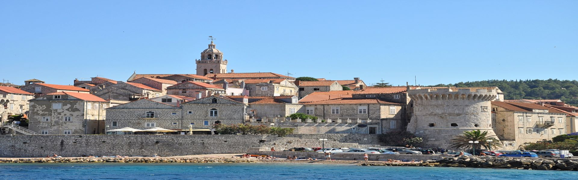 How to reach Korčula island?
